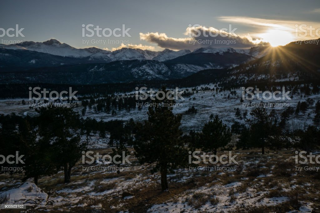 Upper Beaver Meadows stock photo