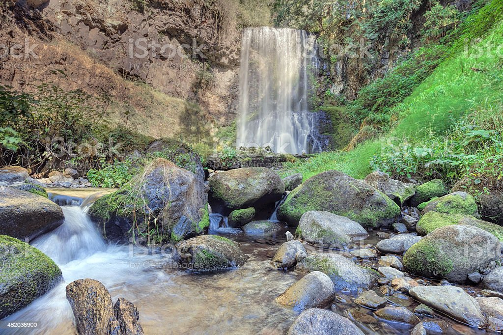 Upper Bridal Veil Falls stock photo
