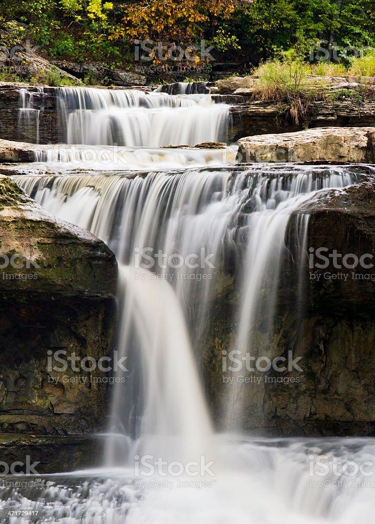 Upper Cataract Falls Close Up royalty-free stock photo