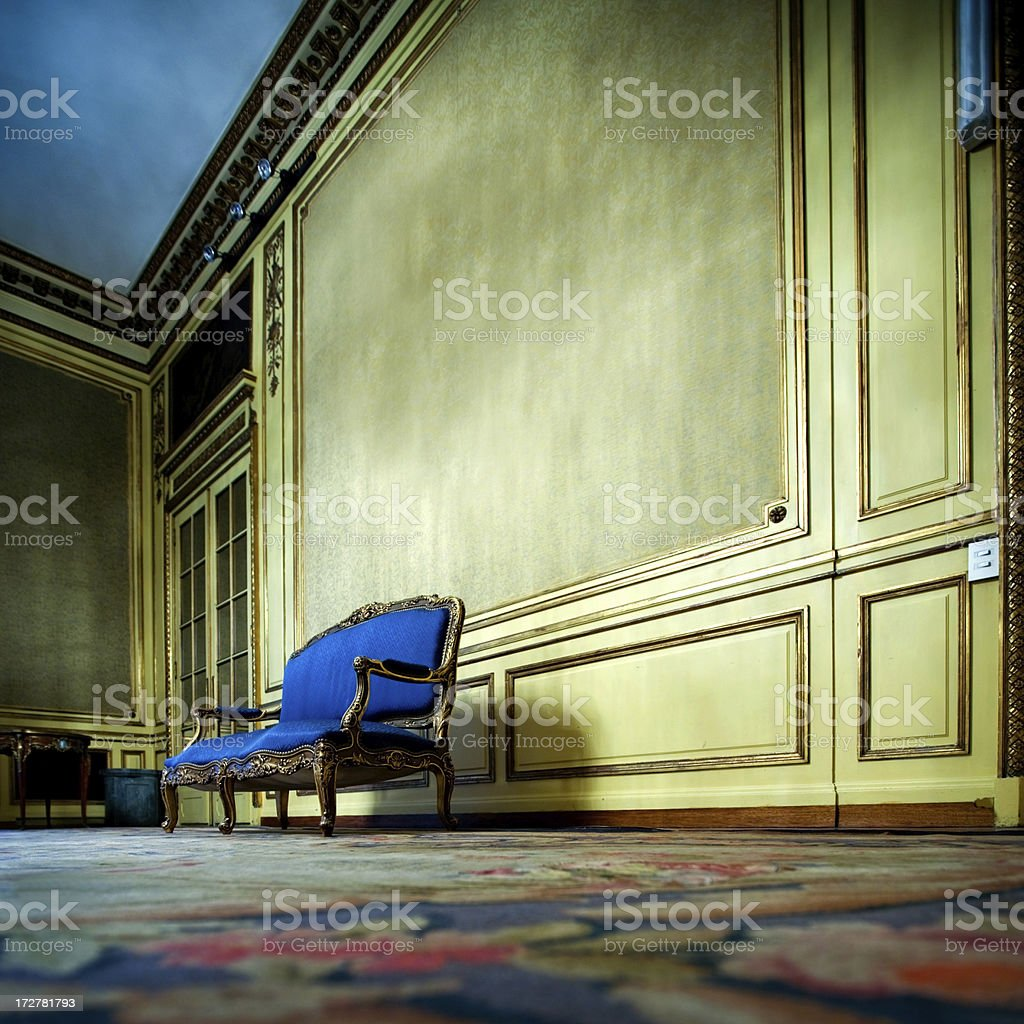 upper class mansion royalty-free stock photo
