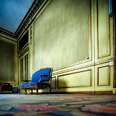 Baroque Style - Home Interior, Sofa in an old mansion