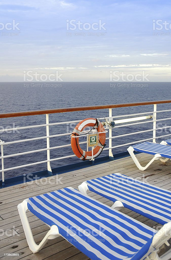 upper deck royalty-free stock photo