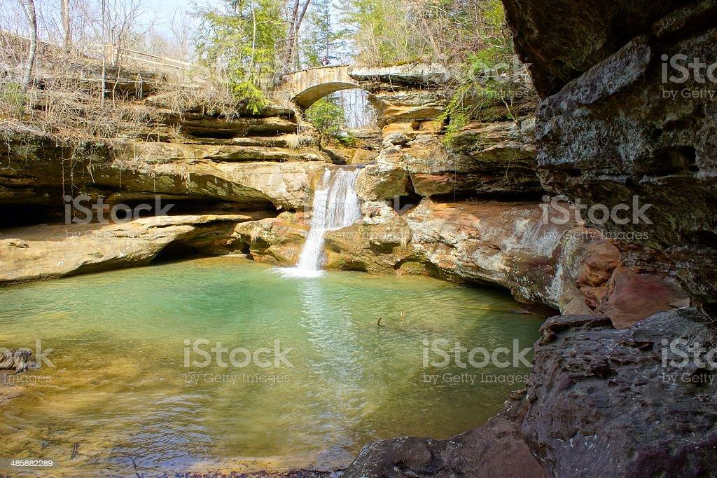 Upper Falls stock photo