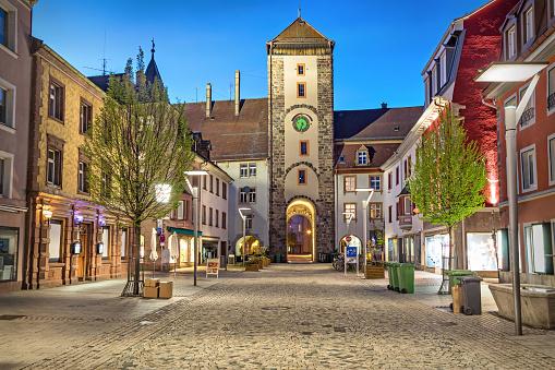Upper gate in Villingen-Schwenningen, Germany