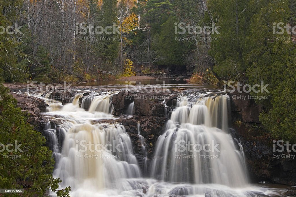 Upper Gooseberry Falls royalty-free stock photo