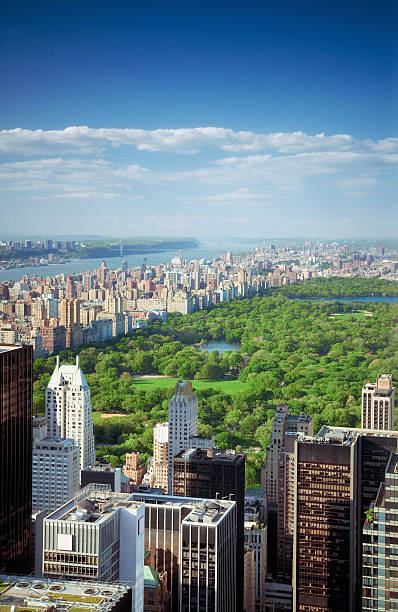 Upper Manhattan stock photo