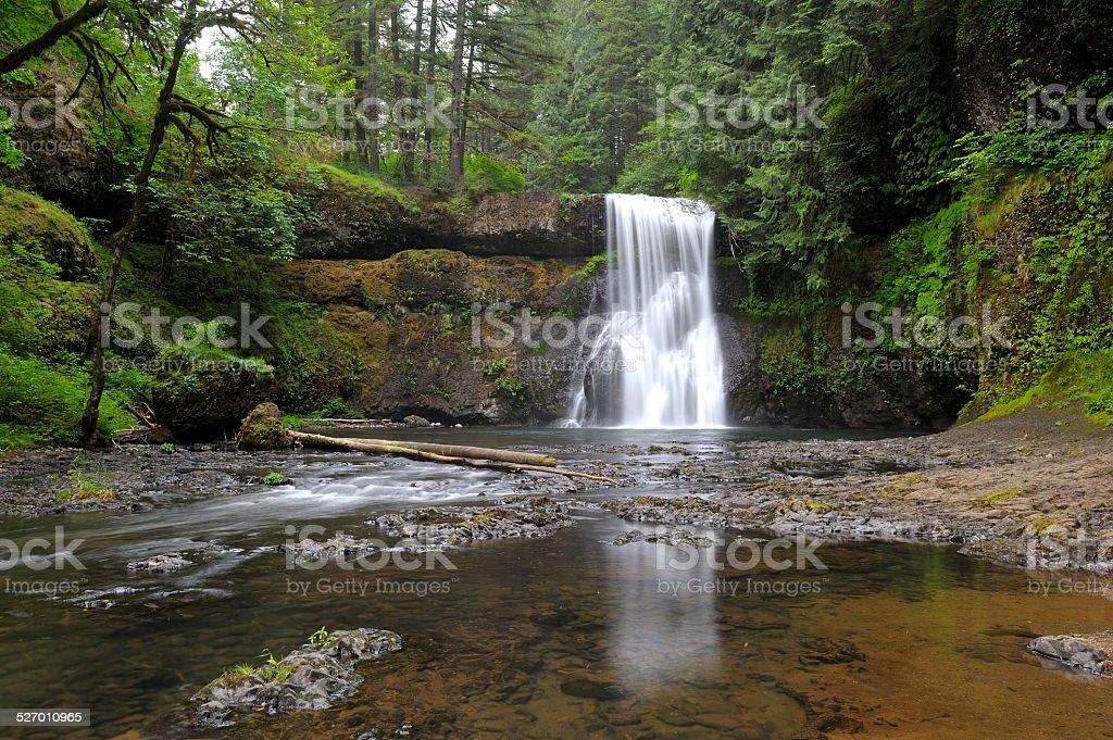 Upper North Falls stock photo