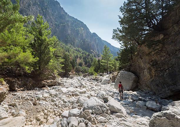 Oberer Teil Samaria-Schlucht auf Kreta – Foto