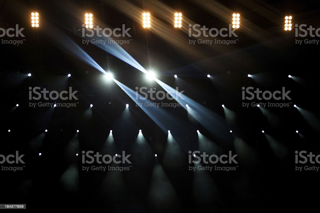 Upper Stage lights royalty-free stock photo