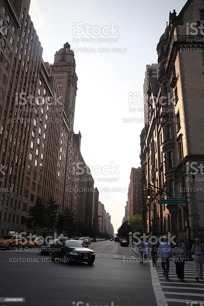 Upper west side, Manhattan royalty-free stock photo
