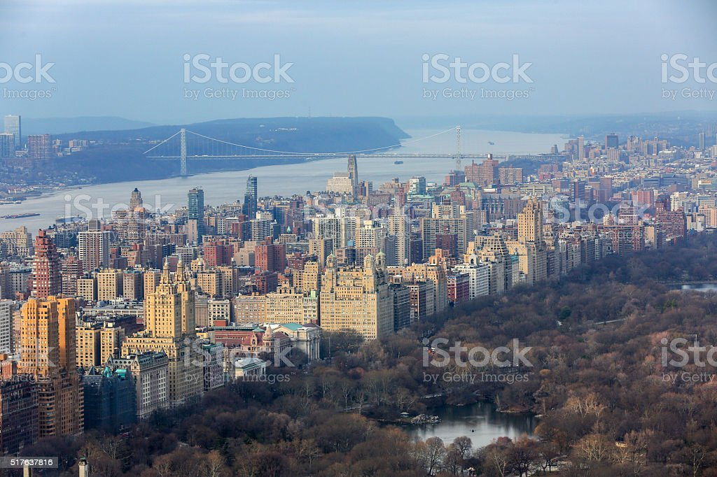 Upper West Side New York stock photo