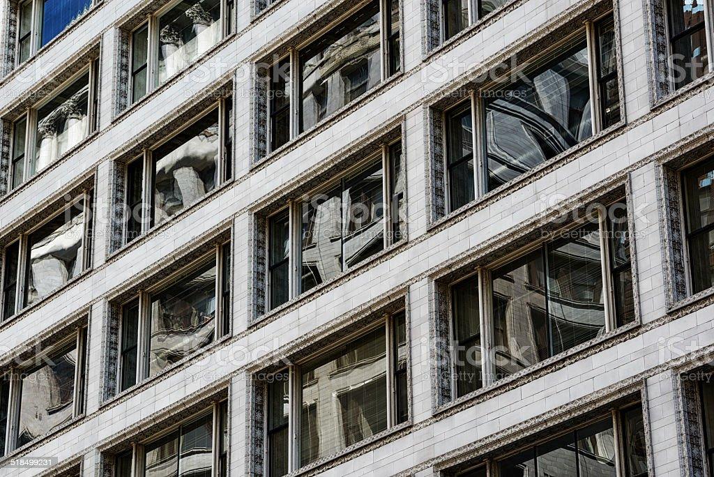 Upper fenêtres de Carson Pirie Scott magasin - Photo