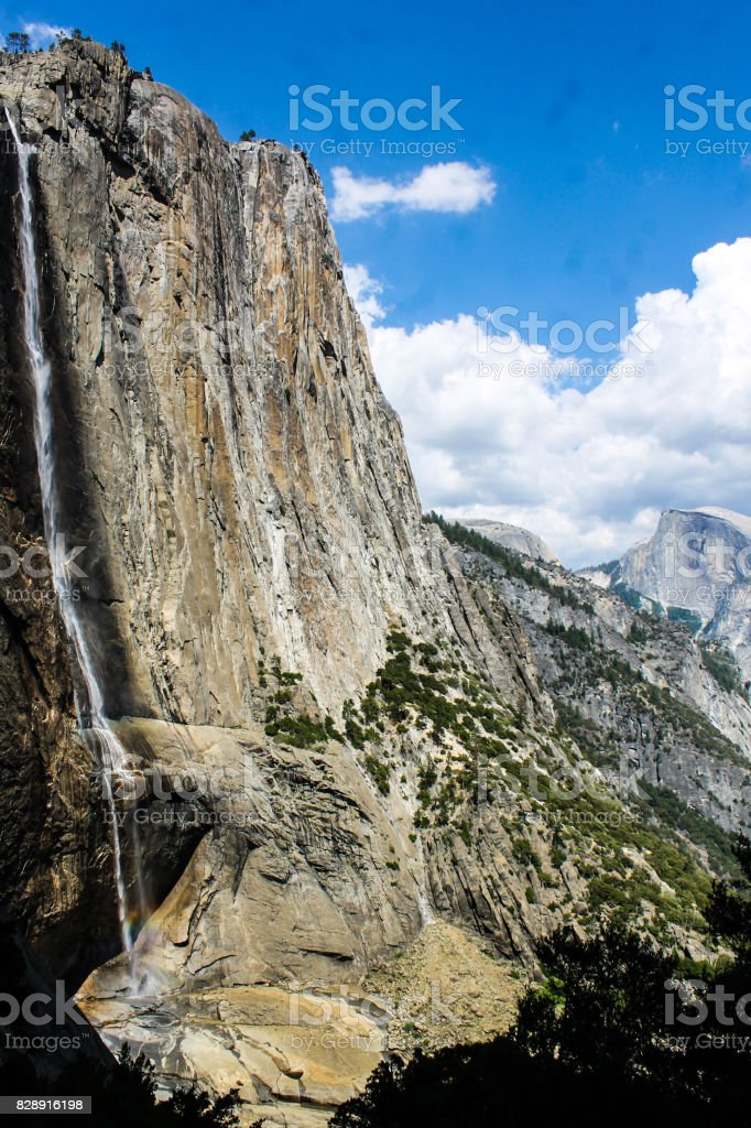 Upper Yosemite Fall stock photo