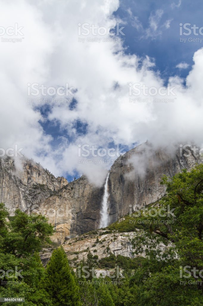 Upper Yosemite Fall, Yosemite National Park stock photo