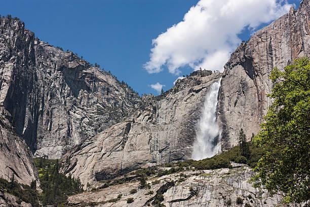 Upper Yosemite Falls stock photo