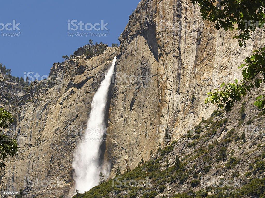 Upper Yosemite Falls Lizenzfreies stock-foto