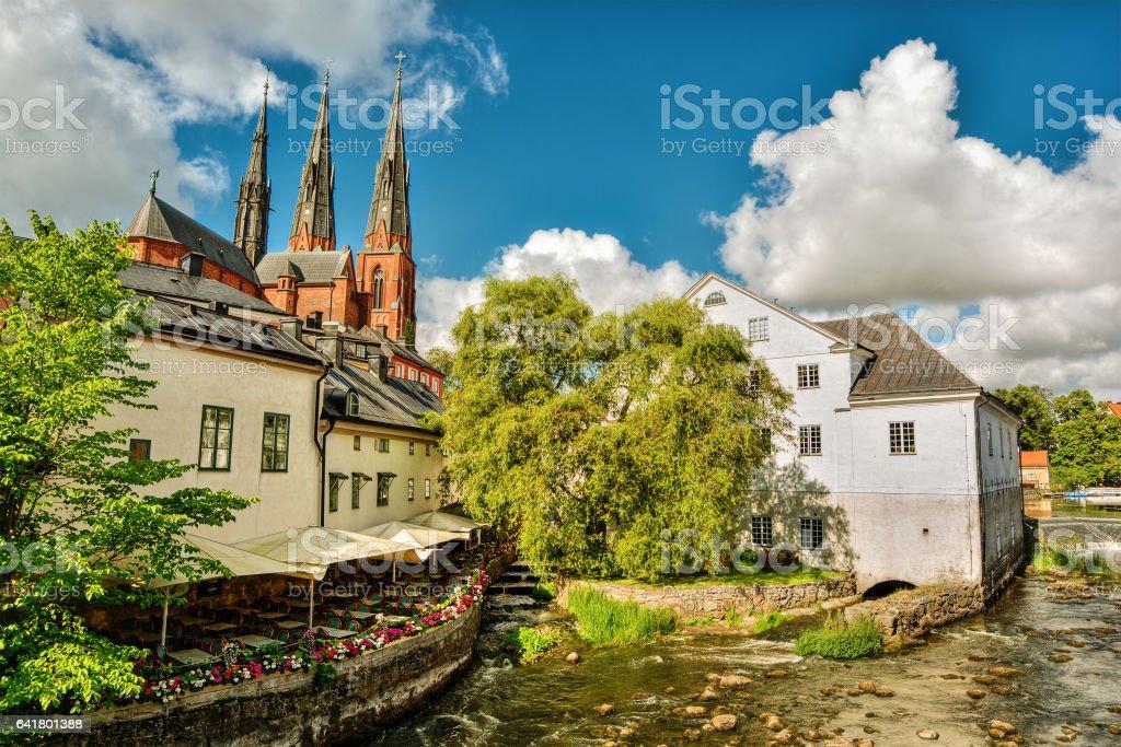 Uppsala HDR stock photo