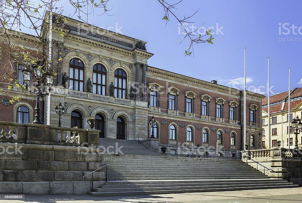 Uppsala University stock photo