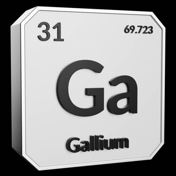 Royalty Free Symbol For The Chemical Element Gallium Pictures