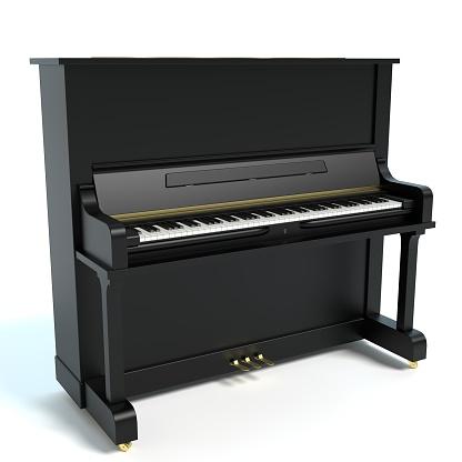 Upright Piano Stockfoto und mehr Bilder von Aufrecht stehendes Klavier