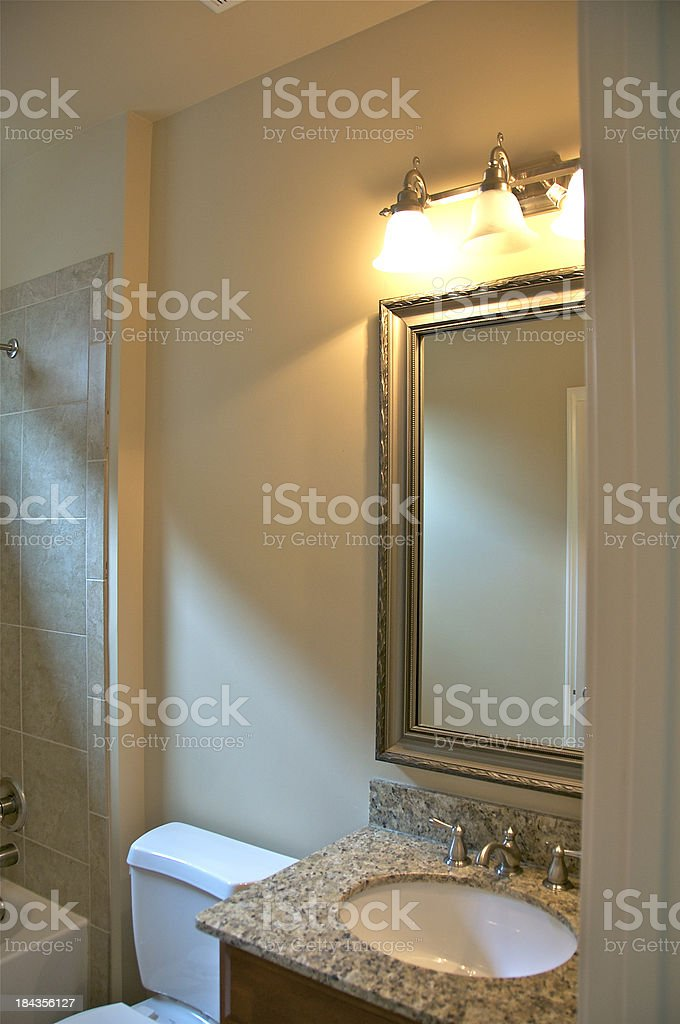 Upscale Bathroom royalty-free stock photo