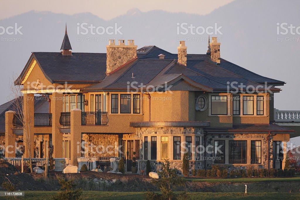Upscale Designer House stock photo