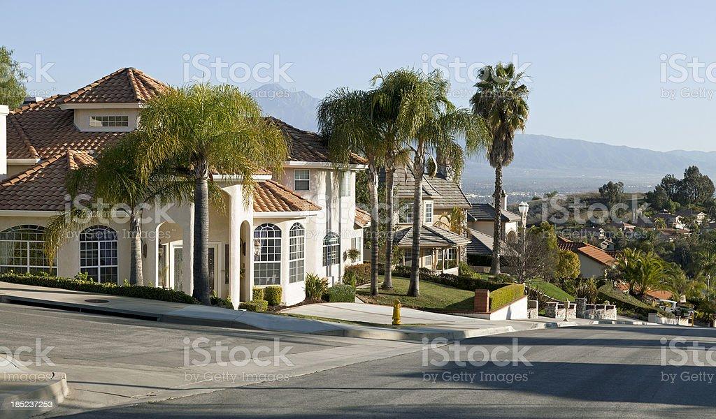 Upscale Home stock photo