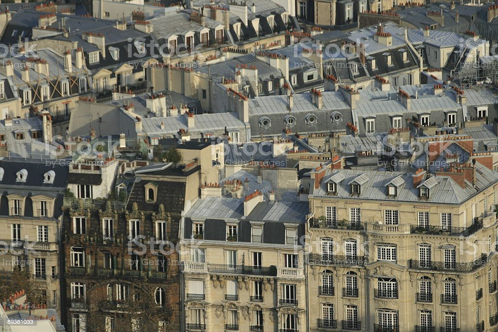 Upscale living in Paris royalty-free stock photo