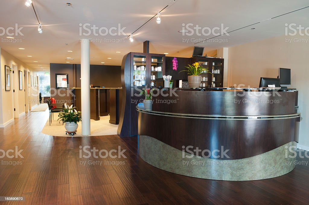 Upscale Medical Office royalty-free stock photo