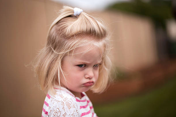 Upset Frustrated little toddler anger stock pictures, royalty-free photos & images