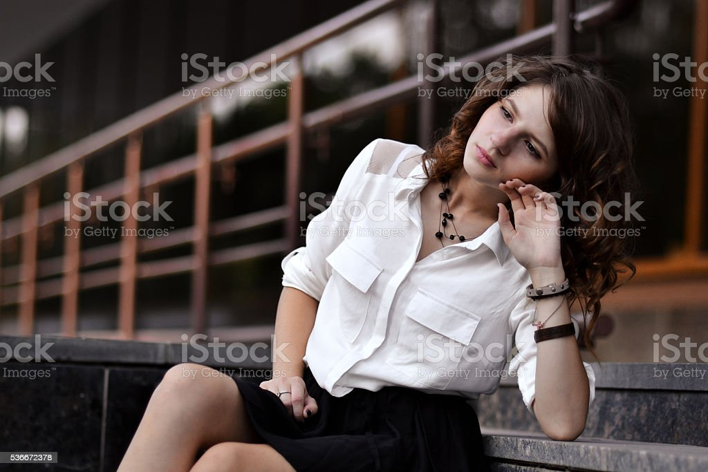 Upset,lovely,depressed,unhappy,nice failed the exams,many think - foto de acervo