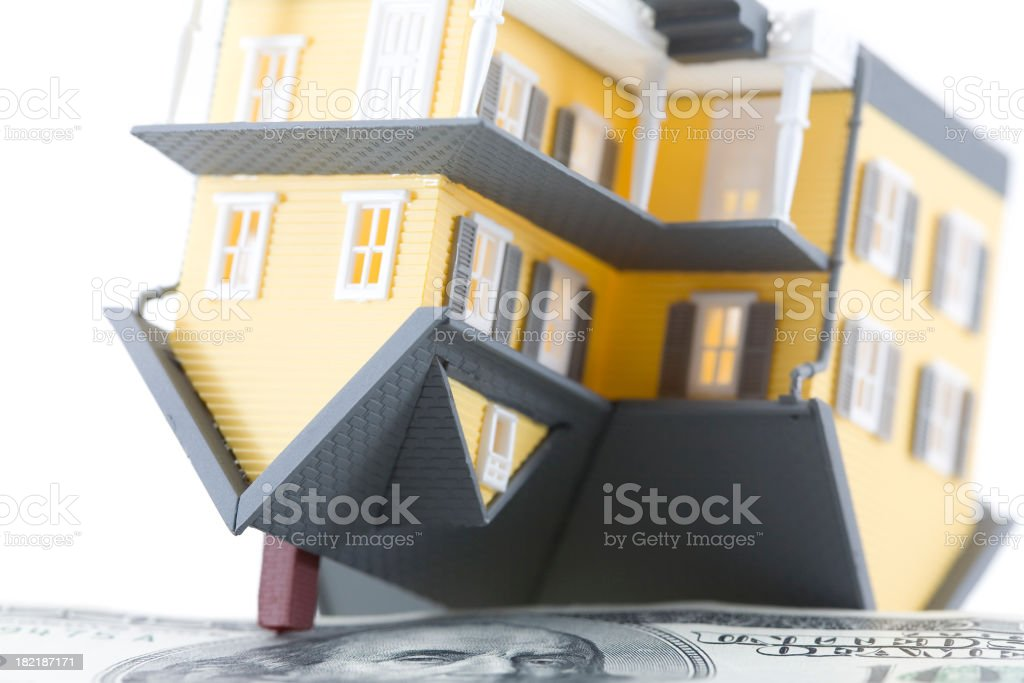 Upside down on your House? royalty-free stock photo