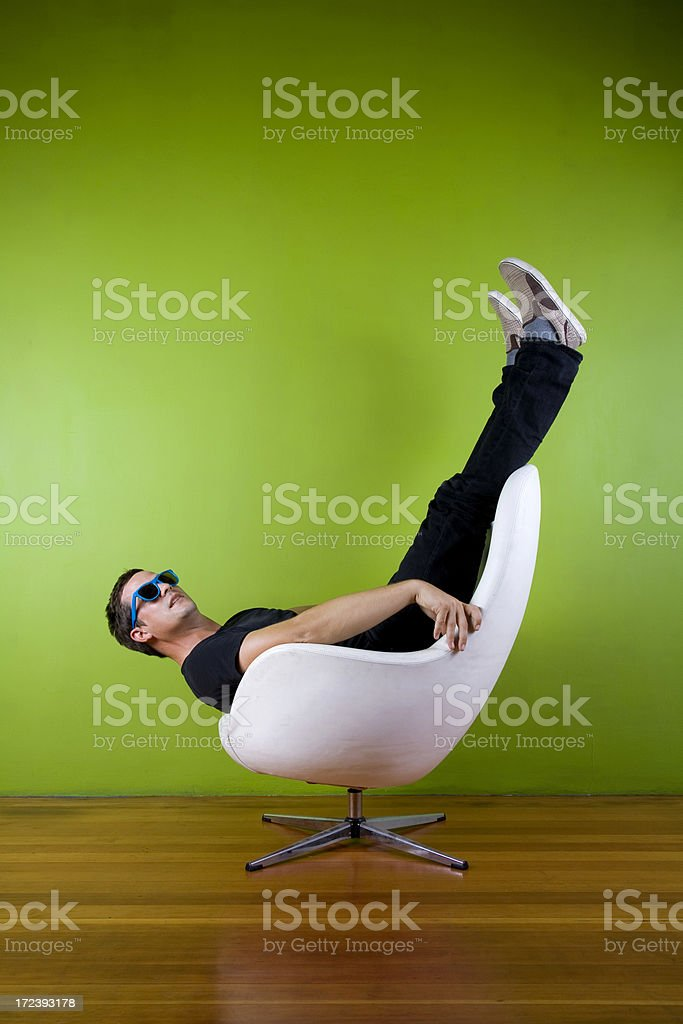 Upside Down Out royalty-free stock photo