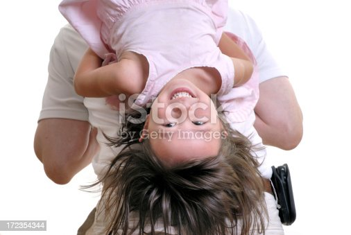 Upside Down Stock Photo & More Pictures of 2-3 Years
