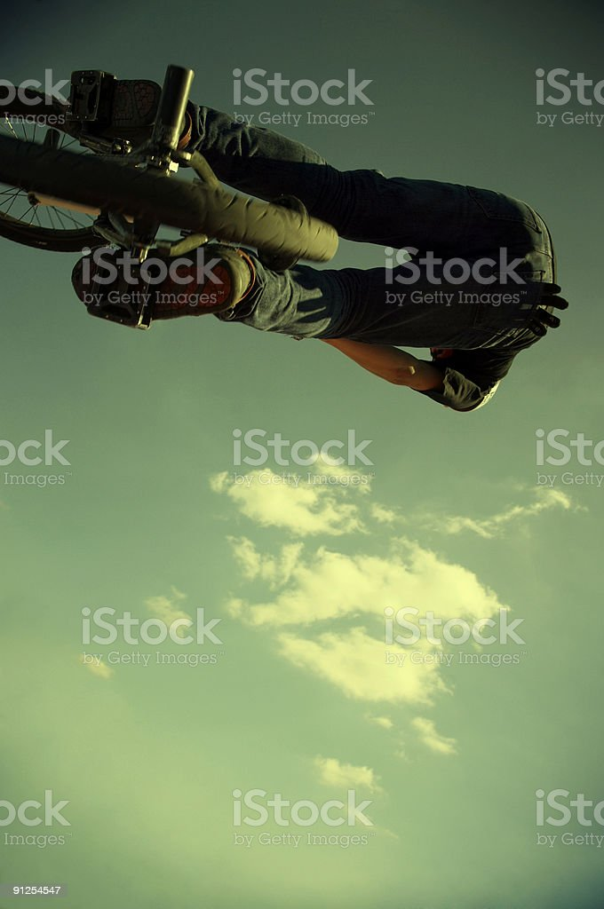 upside-down royalty-free stock photo