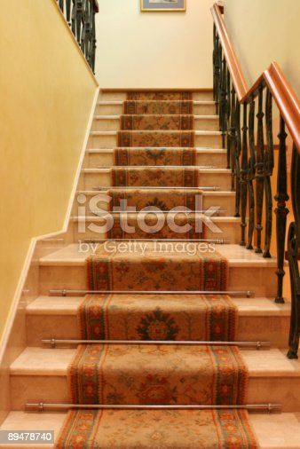 istock Upstairs inside the building 89478740