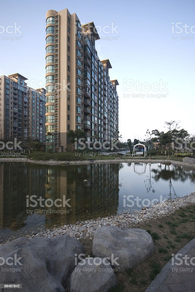uptown landscape royalty-free stock photo
