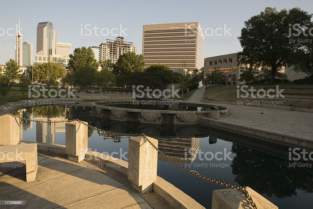 Uptown Park royalty-free stock photo