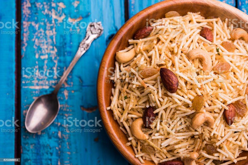 upwas or falahari chivda, indian vrat food stock photo