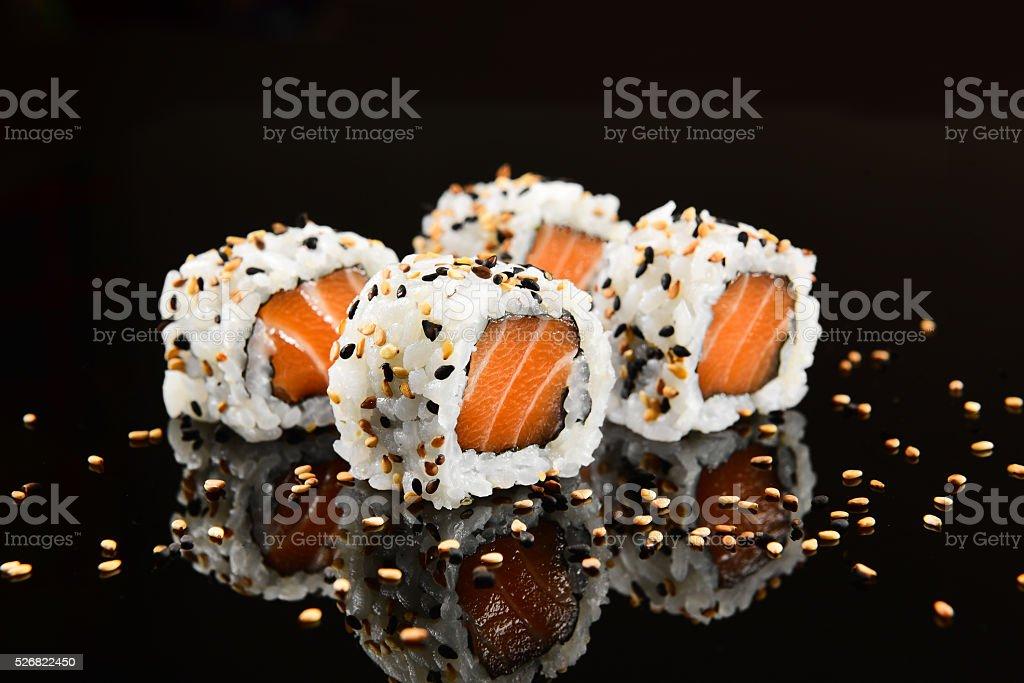Uramaki Sushi stock photo