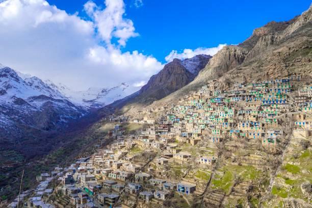 Uraman takht village Uraman takht or the capital of uraman is a village in kurdistan province, iran iran stock pictures, royalty-free photos & images