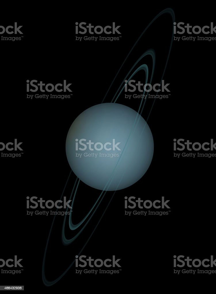 Uranus stock photo
