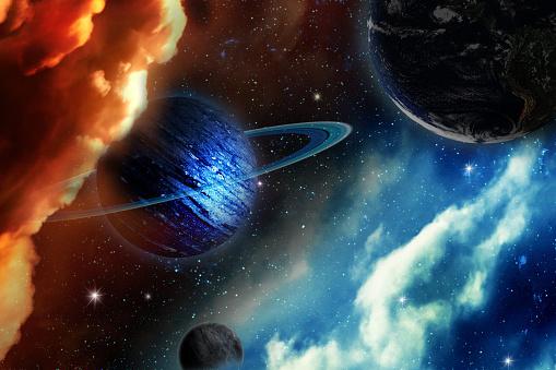 uranus planet. including elements furnished by NASA.