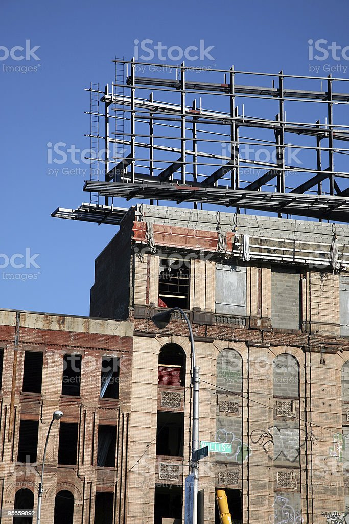 Urban Abandonment royalty-free stock photo