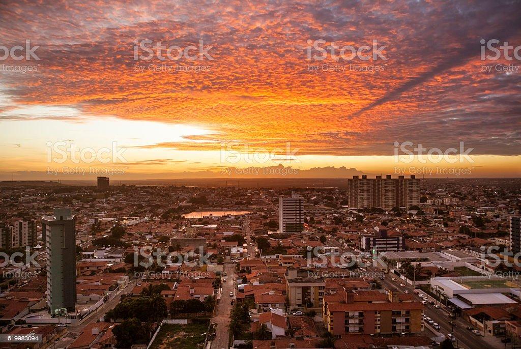 Urban - Aerial Photography stock photo