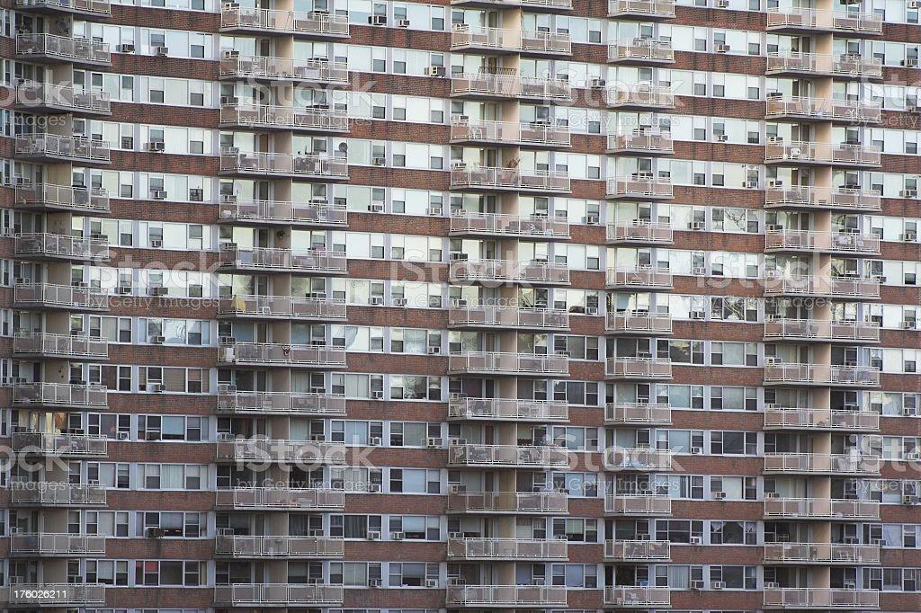 Urban Apartment Complex royalty-free stock photo