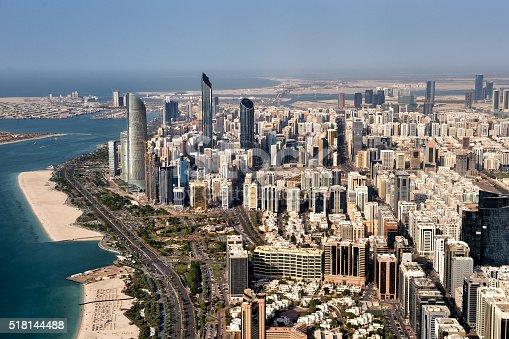517465184 istock photo Urban area in Abu Dhabi 518144488