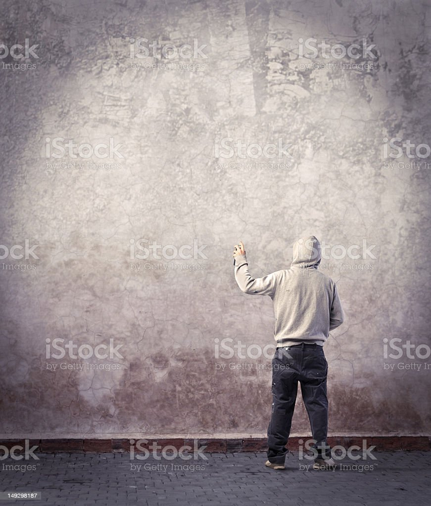 Urban art stock photo