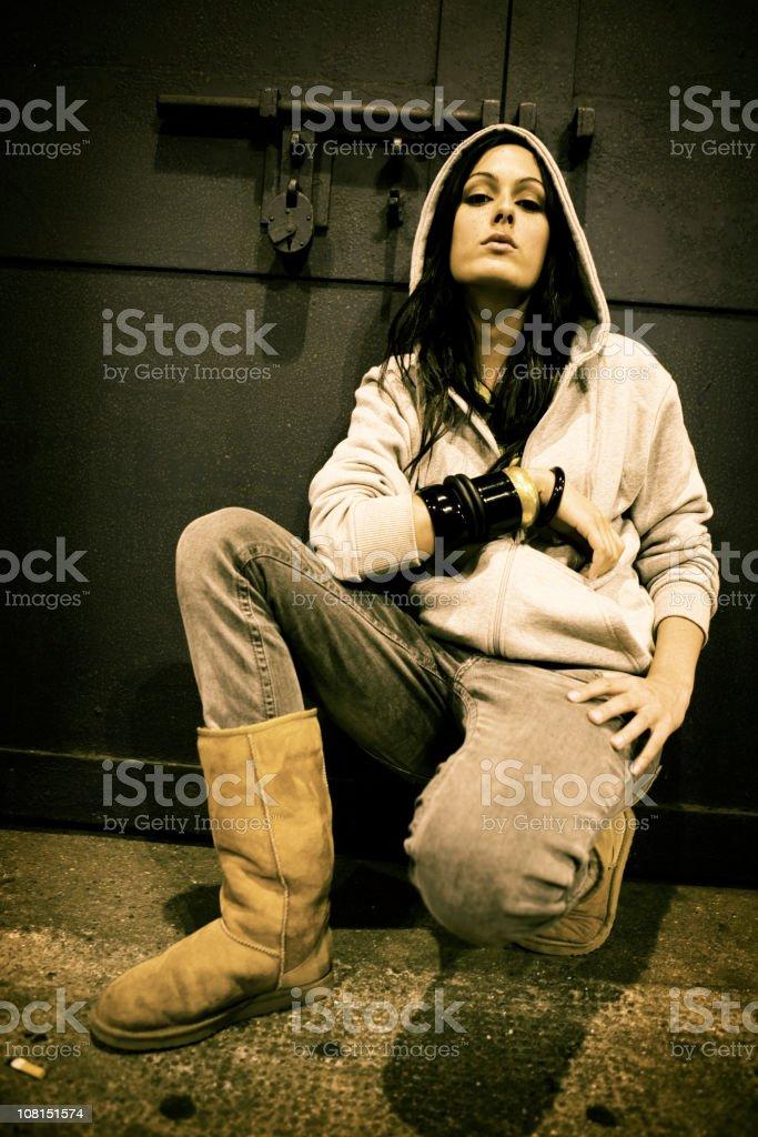 urban attitude royalty-free stock photo