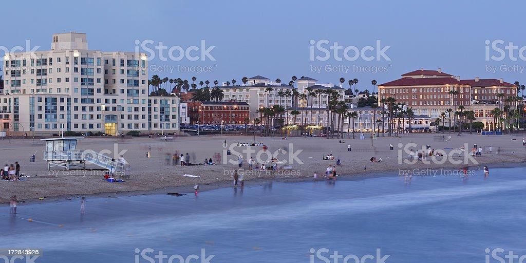 Urban Beach stock photo